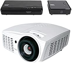 Optoma HD161X-WHD Full 3D 1080p 2000 Lumens DLP Home Theater Projector with WHD200 Wireless HDMI Transmitter & Receiver Kit by Optoma
