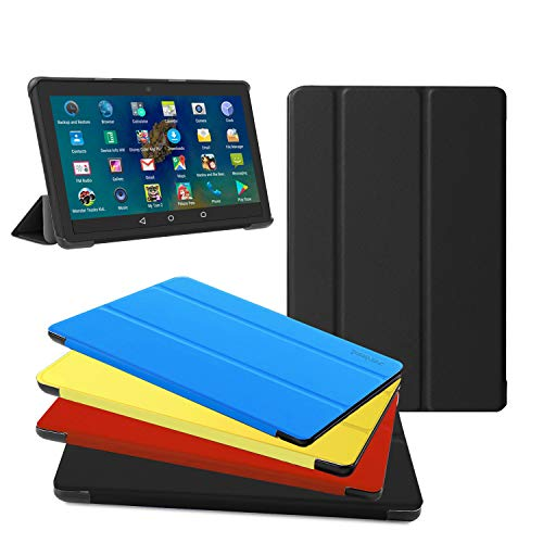 All New Fire HD 8 Tablet Case, Fire HD 8 Plus Tablet Case (8  10 Generation, 2020 Release) - Ultra Light Slim Fit Protective Cover with Auto Wake Sleep Black, Not Suit for Previous Generation