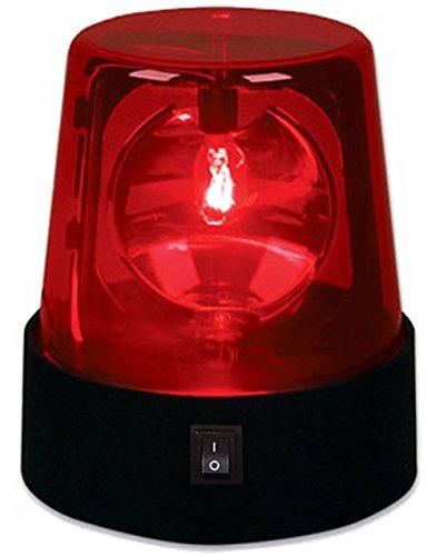 "4.5"" Rotating Red Flashing Beacon Party Lamp DJ Strobe Light"