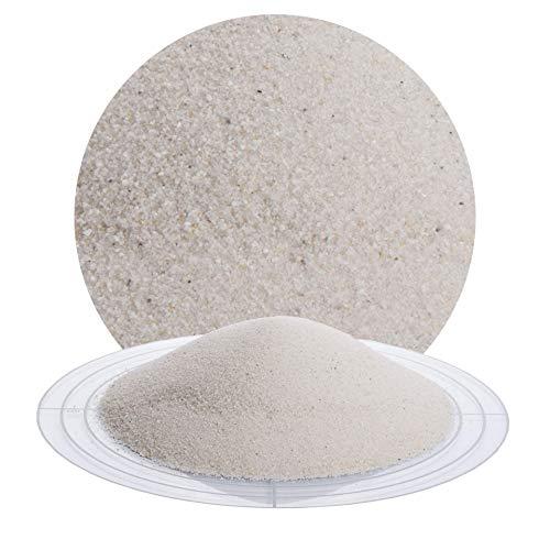 Fugensand weiß 25 kg; heller, feiner Quarzsand in verschiedenen Körnungen von Schicker Mineral, speziell geeignet für enge Fugen, Einkehrsand für Pflasterfugen (0,1-0,3 mm)