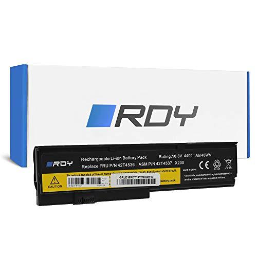 RDY Batería 42T4650 para Lenovo ThinkPad X200 X200s X201 X201i X201s