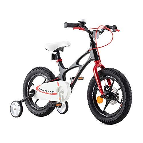 RoyalBaby Bicicleta Infantil para niños y niñas Bicicletas Infantiles Space Shuttle Ruedas...