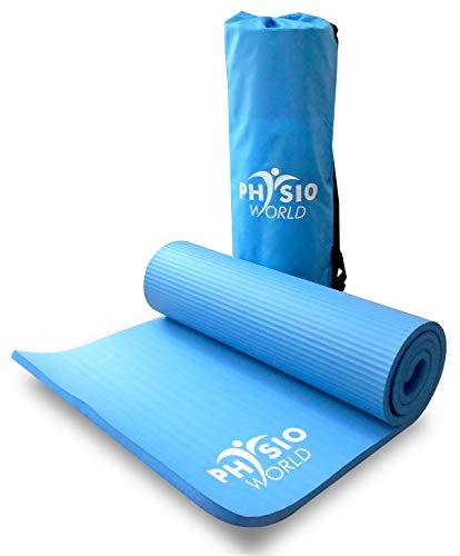 PhysioWorld - Esterilla de deporte, colchoneta de fitness / entrenamiento...