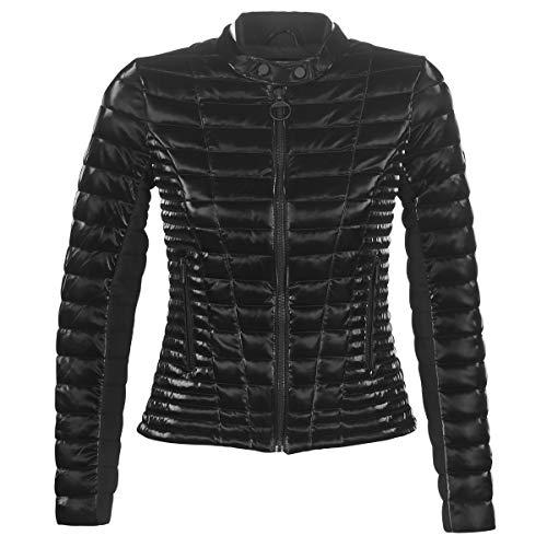 Guess Damen Vona Jacket Steppjacke, Nero, XL