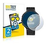 BROTECT 2X Entspiegelungs-Schutzfolie kompatibel mit Garmin Forerunner 235 Bildschirmschutz-Folie Matt, Anti-Reflex, Anti-Fingerprint