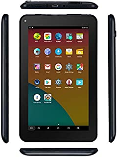 Haehne 7 inch Tablet, Android 6.0, Quad Core Processor, 1G RAM 16GB Storage, IPS Display, Dual Camera, FM, WiFi Only, Bluetooth, Black