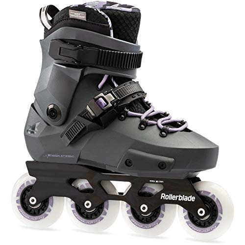 Rollerblade Twister Edge W Patines Gris, Mujeres, Anthracite/Lilac, 250