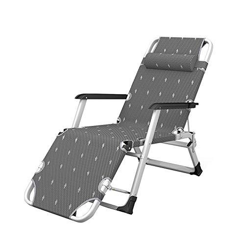 Folding table and chair Chaises Longues, Lit De Bureau, Tube Plat | Chaise Paresseuse Portable pour Loisirs à La Maison, Balcon, Jardin ExtéRieur
