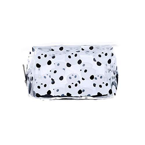 ARR Creative Panda PVC Make-up Bag Waterdichte Leuke Transparante Reizen Make-up Cosmetische Toilettas Ritszak
