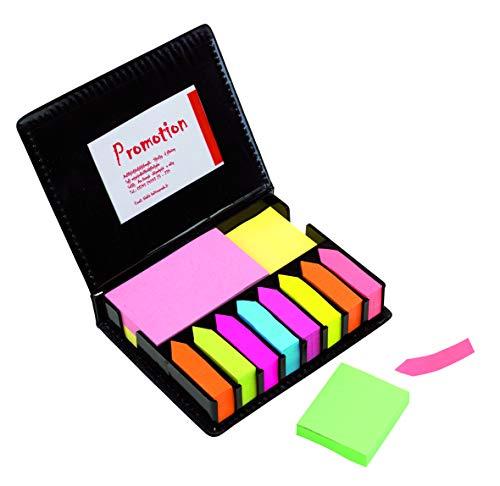 Mega Set bunte beschreibbare Haftnotizen farbige Haftstreifen Notizzettel Sticky Notes Pagermarker Bürobedarf Haushalt selbstklebende 2000 Blatt von notrash2003