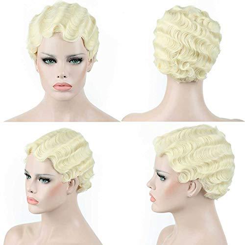 Short finger wave wig _image1