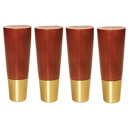 DX set met 4 tafelpoten voor houten meubels, poten voor banken van hout, reservepoten voor bank, reservebank, schoenenkast, tv-meubel, badmeubel, toegang