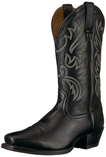 Ariat Men's Legend Western Boot, Black Deer tan, 12 D US