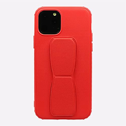 YSYSZYN For iPhone 13 Mobile TELÉFONO MÓVIL Holder Mulbanda Magnético Caja de Color sólido (Color : Red, Material : IP 13 Mini)
