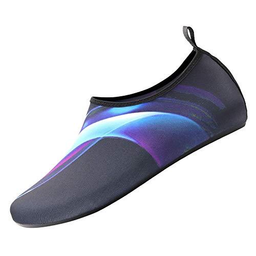 URIBAKY - Zapatillas de deporte para exteriores, impermeables, para playa, para yoga, para correr, para correr, para exteriores, fitness, senderismo, Le Noir, 38.5 EU