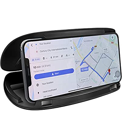 Car Phone Holder Dashboard, Cell Car Phone Mount, Durable Dash Cell Phone Holder for Car Cradle Compatible for iPhone 11 Pro Max XS XR X 8 8+ 7 7+ 6 Samsung Galaxy Note 10 S10 Smartphones and GPS from Vogue shop