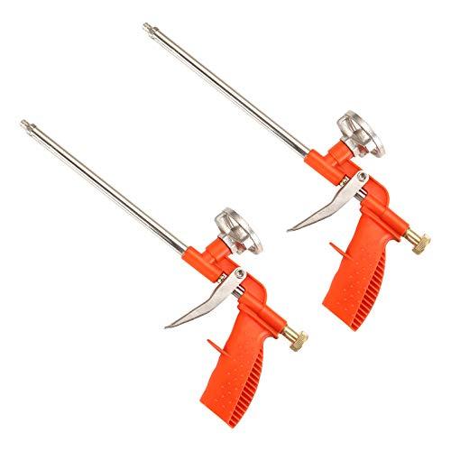 KingSaid 2x PU Schaumpistole Bauschaum Set Schaumpistole Bauschaumpistole Montagepistole