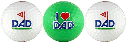 EnjoyLife Inc #1 Dad w/Love You Dad Golf Ball Gift Set