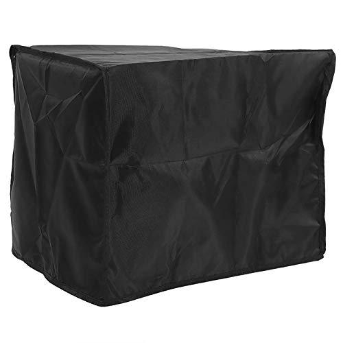 BANGSUN 1 cubierta de aire acondicionado para muebles de jardín al aire libre a prueba de lluvia anti aluminio plateado
