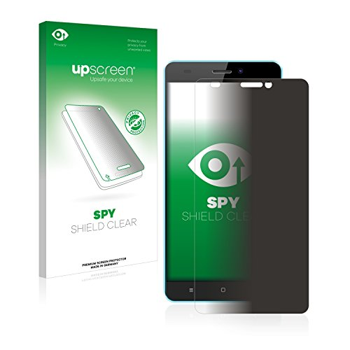 upscreen Anti-Spy Blickschutzfolie kompatibel mit Oukitel C3 Privacy Screen Sichtschutz Bildschirmschutz-Folie