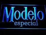 MorganNeon 12' x 8' Modelo Especial Beer Bar Pub Club LED Neon Light Sign Blue