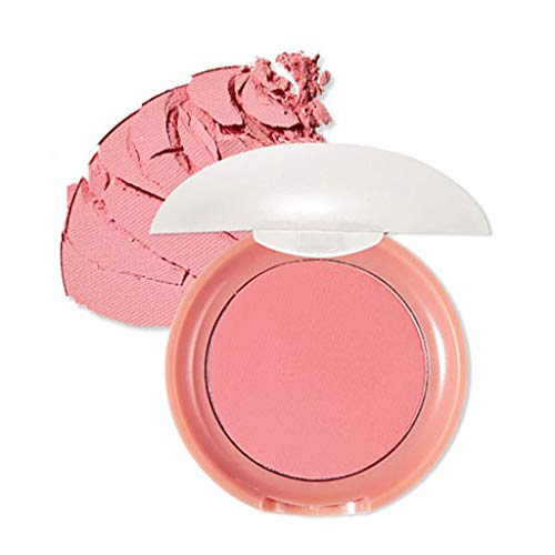 ETUDE HOUSE Lovely Cookie Blusher 7.2g PK002 Grapefruit Jelly - The puff expresses revitalized, pinkish baby cheeks by lightly tapping on the cheeks