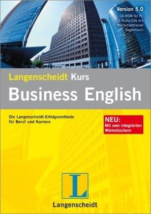 Preisvergleich Produktbild Langenscheidt Kurs Business English 5.0,  1 CD-ROM,  2 Audio-CDs u. BegleitbuchDie Langenscheidt-Erfolgsmethode für Beruf und Karriere