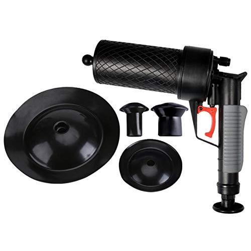 Abridor de Drenaje de Alta presión Air Power Drain Blaster para baño obstruido Tubería de Inodoro Equipo de Limpieza de Drenaje de bañera