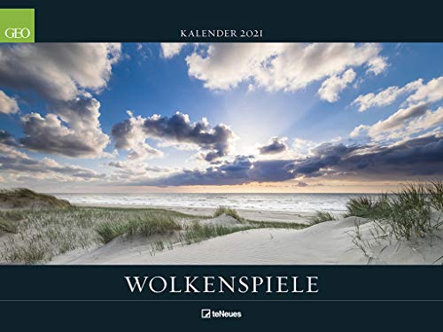 GEO Wolkenspiele 2021 - Wand-Kalender - Natur-Kalender - Poster-Kalender - 64x48