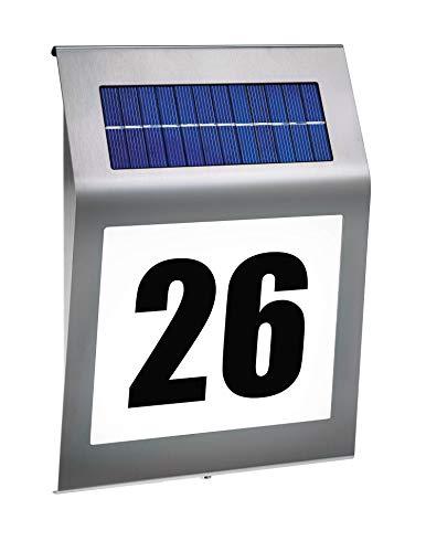 "esotec Solar Hausnummernleuchte \""Style\"" 102031"