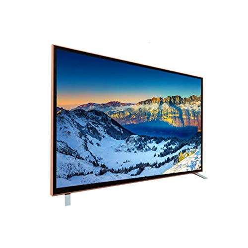 YINxy 55'4K Ultra HD Smart TV, Templado A Prueba Explosiones Cocina Dormitorio