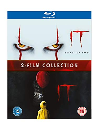 IT 2-Film Collection [2017 & 2019] [Limited Edition] [Blu-ray] [2017] [Region Free]