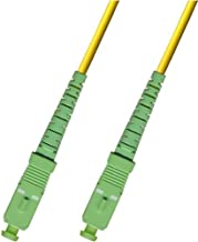 15M - Singlemode Simplex Fiber Optic Cable (9/125) - SC/APC to SC/APC