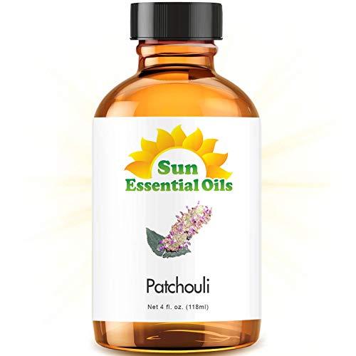 Patchouli Essential Oil (Huge 4oz Bottle) Bulk Patchouli Oil - 4 Ounce
