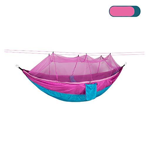 LISI Hamaca Camping sillas Colgantes Plegable Hamaca Malla Sillas mecedoras 300kg Capacidad de Carga para Senderismo Actividades al Aire,B
