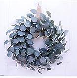 JRZSZMD Couronnes De Noël,Artificiel Floral Garland,60Cm Grande Simulation Fleur Rose Éternelle Couronne De Noël pour Mariage Fait Main Porte Fenêtre Wall Hanging Décor Festival