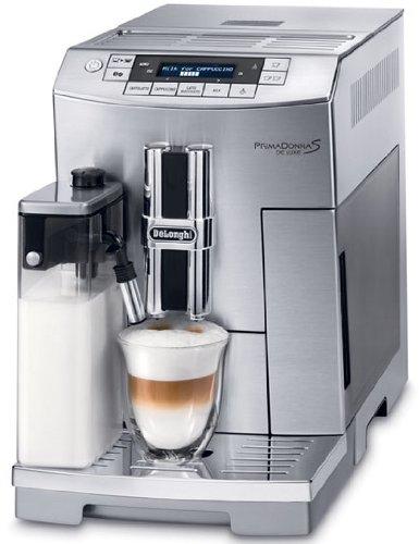 DeLonghi De'Longhi PrimaDonna S Deluxe Super Automatic Espresso Machine ECAM26455M