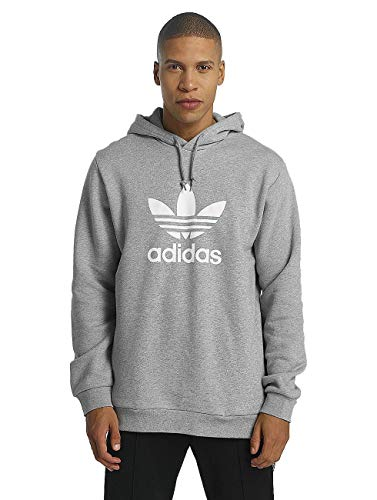 adidas Trefoil Sudadera, Hombre, Gris (brgrin), XL