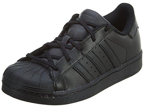 adidas Originals Superstar, Zapatillas Unisex niños, Black Core Black Core Black Core Negro Carcasa de Ordenador, 33.5 EU