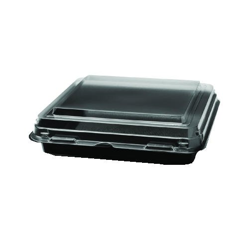 For Sale! SCC864628PS94 - Octaview Cf Container, 3-c, Black/Clear, 36oz, 9.57w X 9.18d X 2.36h