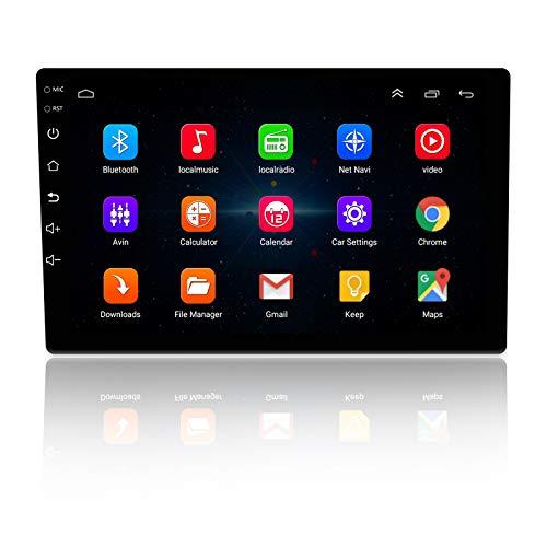 Ezonetronics 2 DIN 10 Pulgadas Android 8.1 Radio de Coche Estéreo Navegación GPS de Alta definición Bluetooth USB WiFi Enlace Espejo Am FM SWC Video Audio Reproductor Multimedia 1G RAM + 16G ROM