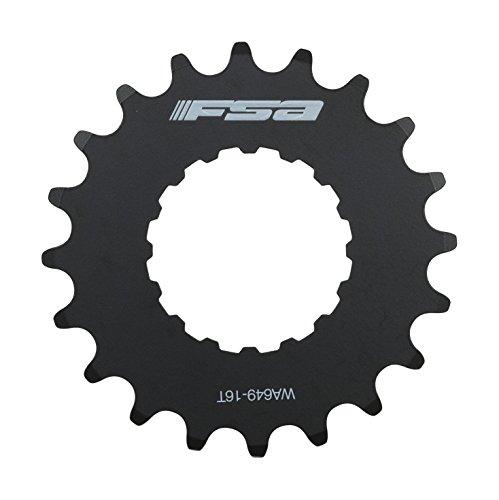FSA e piñón Plato de Repuesto para Bosch E-Bike Sistemas, Unisex, Bosch E-Bike Sprocket, Negro, Talla 16