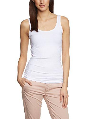 ONLY Damen Onllive Love Tank Noos Top, Weiß (White White), 34 (Herstellergröße: XS)
