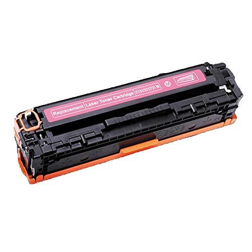 XIGU Reemplazo de Cartucho de tóner Compatible para HP CB400A para HP Color Laserjet CP4005 4005N 4005DN Impresora, con la Escuela de Oficina de Chips Baja en Polvo de re Magenta