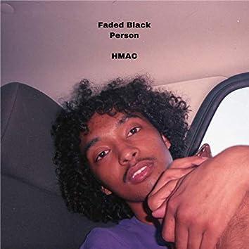 Faded Black Person
