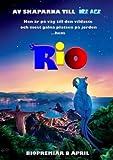 Rio – Jesse Eisenberg – Film Poster Plakat Drucken Bild