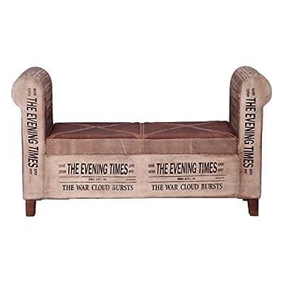 La décoration et les meubles de style industriel sont tendance et une référence de les raisons est la grande capacité de fascination qui ont les matériaux avec les dont sont faits ces pièces unique. Ce meuble de design sobre et attrayante par ses mot... [Méridienne]
