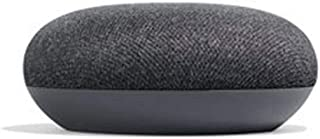 Google Home Mini Speaker Wireless Voice Activated Speaker, powerful little helper, Voice control for movies, music, and compatible smart home devices, voice recognition and personalized response, Helps plan out schedules - Charcoal
