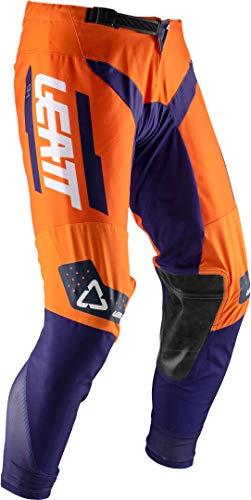 Leatt Brace GPX 3.5 Youth Boys Off-Road Motorcycle Pants - Orange/Size 26