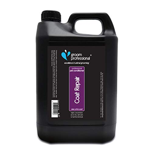Groom Professional Coat Repair Highly Concentrated Dog Conditioner, 4 Litre